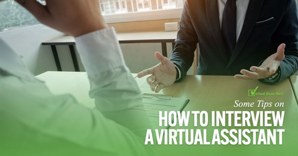 Virtual Done Well – Virtual Assistants Philippines